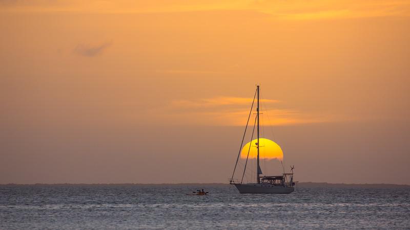 Sunset - Caye Caulker, Belize