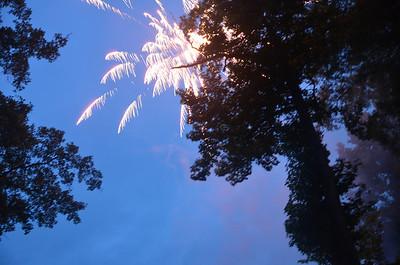 Fireworks Lake 2013
