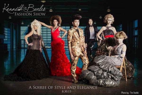 Fashion show:  Kenneth Barlis (2013)