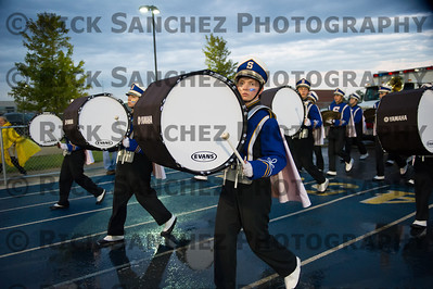 09-21-12 Sandburg vs Lincoln-Way East Band