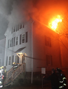 2 Alarm Structure Fire- 159 Fourth St. Fall River, Ma.- 1/10/20