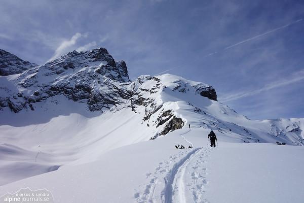 Bretterspitze ski tour, Tirol 2013-04-02