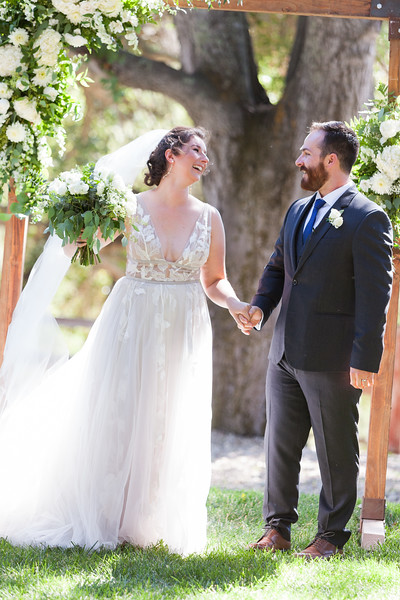 Audra and Tom's Portola Inn Wedding