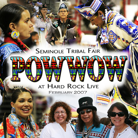 Seminole Indian 36th Annual PowWow at the Hardrock Hotel Resort and Casino 2007 Feb 10