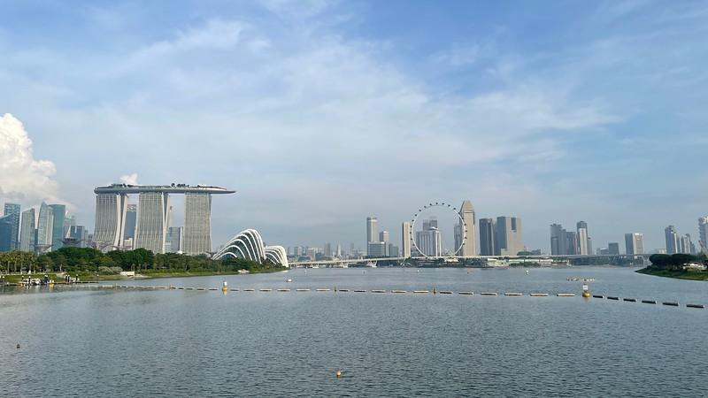 View from Marina Bridge