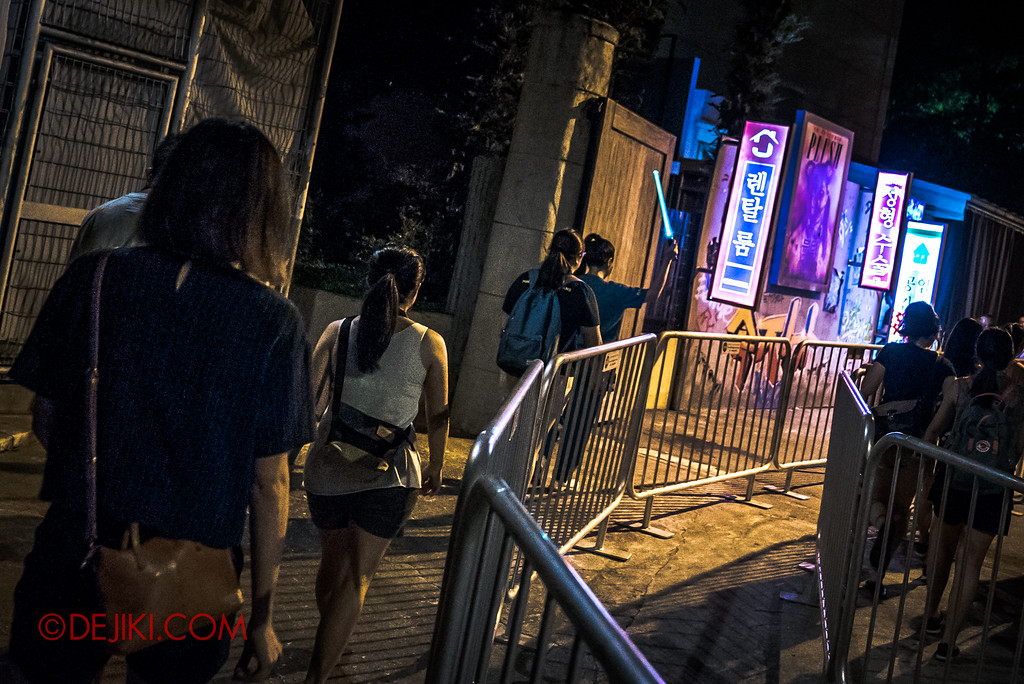 Halloween Horror Nights 7 Singapore - RIP Tour Review / Make The Cut VIP Access