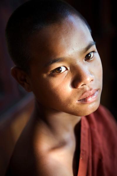 serious monk
