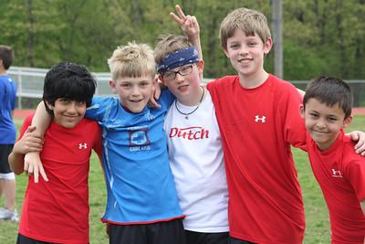 Fourth Grade Track Meet