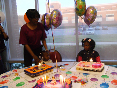 Tenia and Lauryn Birthday Party 2009
