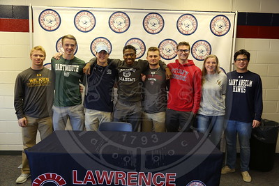 Athletic Signings 11/9/17