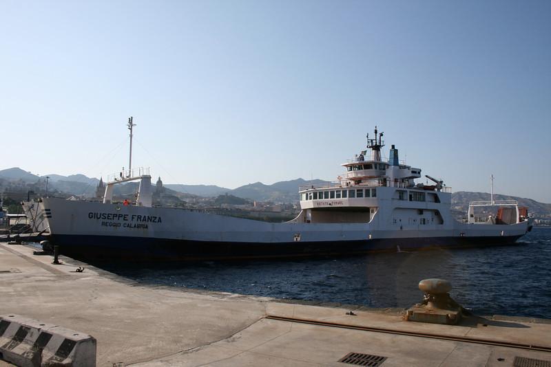 2009 - F/B GIUSEPPE FRANZA in Messina.