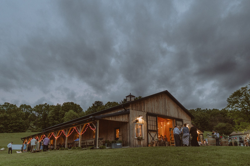 White Hollow Acres Summer Rustic Boho Barn Wedding Upstate New York 139.jpg