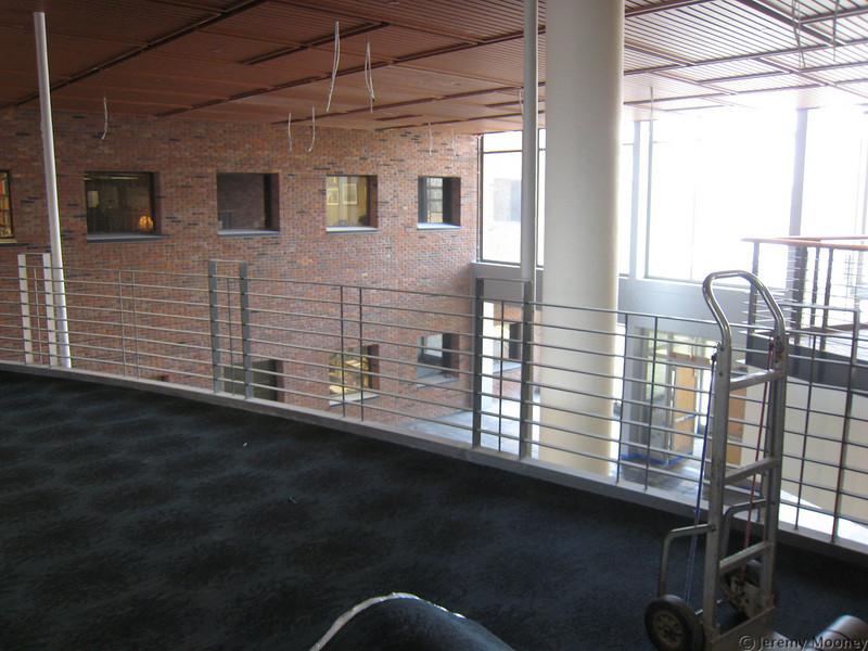 2nd floor, looking towards AC building/lake