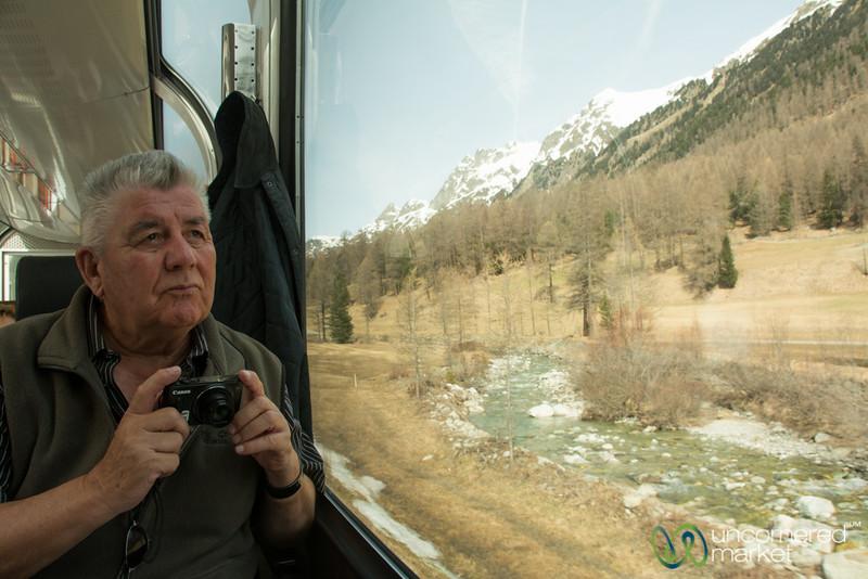 Bernina Express, Enjoying the Views - Switzerland