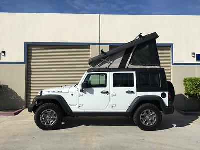 J30-193 2016 Jeep Wrangler JK - Bright White