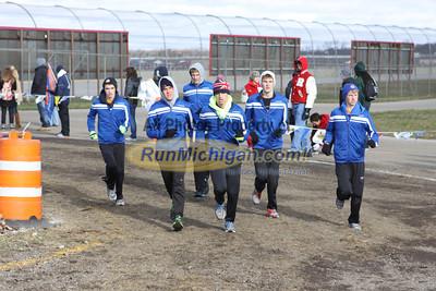 800 Meters, D4 Girls - 2012 MHSAA LP XC Finals