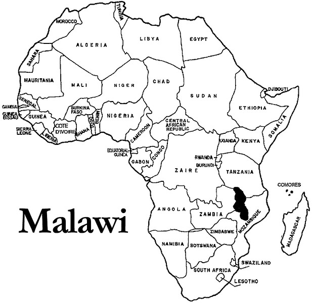 """The photos which follow were made in Malawi, a small former British colony in southeast Africa. Malawi is known as the """"warm heart of Africa"""" for the friendliness of its people. Photos were a team effort, although the majority were made by the owner of this website."""