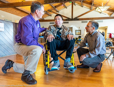 Rosebud Reservation Wheelchair Distribution