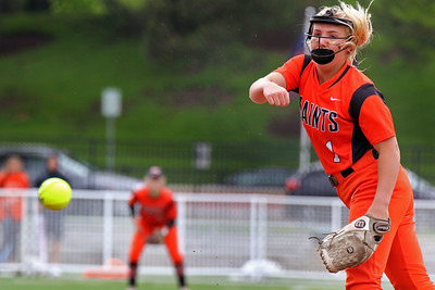 St. Charles East softball sectional semifinal