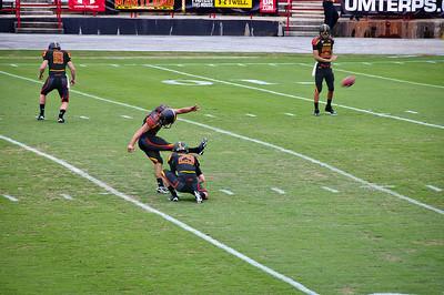 UMD vs WV Football 2011