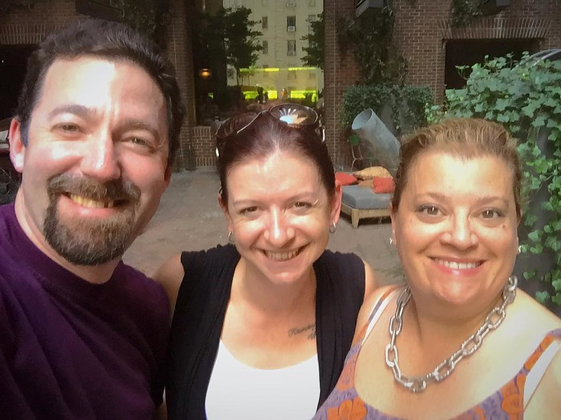 """Disney """"magic"""" in Manhattan. So good to see you LVH! Safe travels!!"""