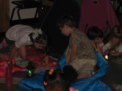 Patrick's Camping, Water and Birthday fun