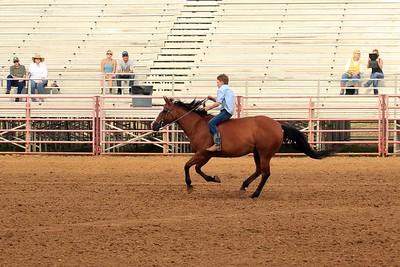 Sheridan Cowgirls Bareback Barrels 6-28-18