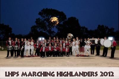 LHPS Marching Highlanders 2012