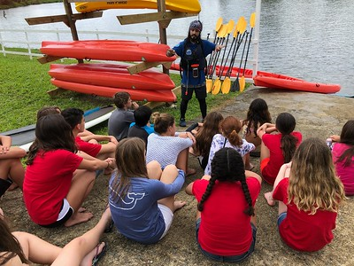 7th Grade Field Trip to Paddle Paradise in Gurabo 2018
