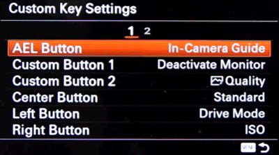 Setting up Back Button Focus on Sony a6000 and a63000 - Step 4