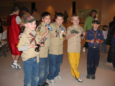 Scouts:  Pinewood Derby