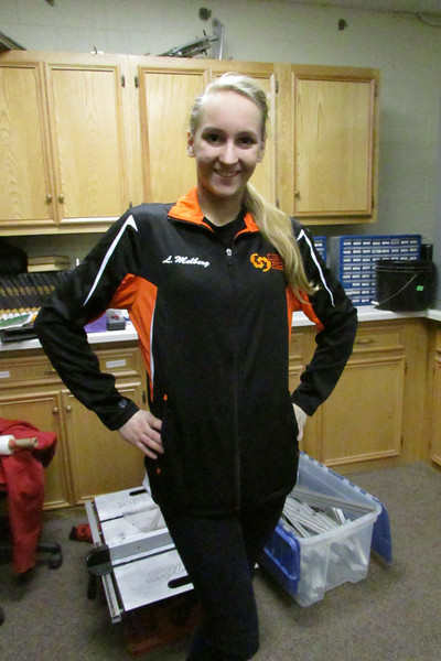 Lizzy and Savannah ordered wonderful new personalized Mechanical jackets include the C.O.R.E. logo, as well as their name sown into the jacket (L. Melberg for example)