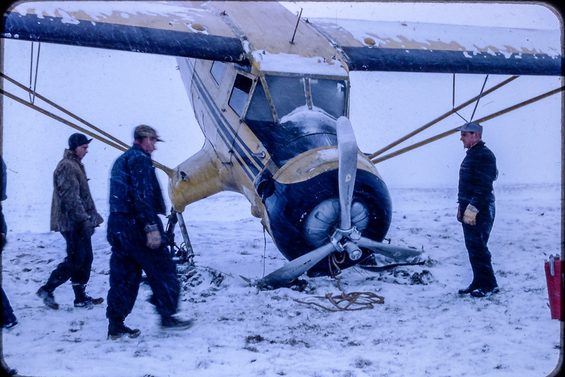 Norseman Mark 6 abimé au décollage à Shefferville
