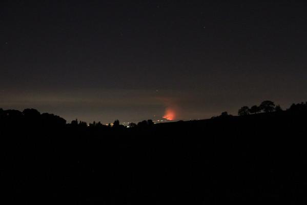 Mt Diablo Fire 2013