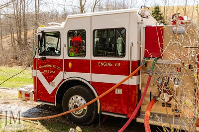 04-01-19 Walhonding Valley FD - House Fire