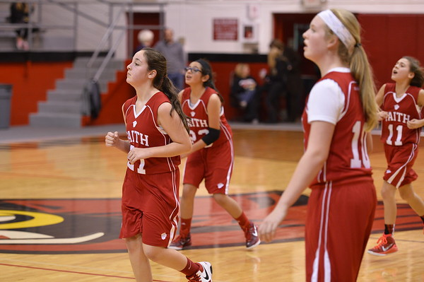 7th Girls Basketball 1-6-2015