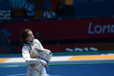 Lee vs Monica Peterson Olympics 2012