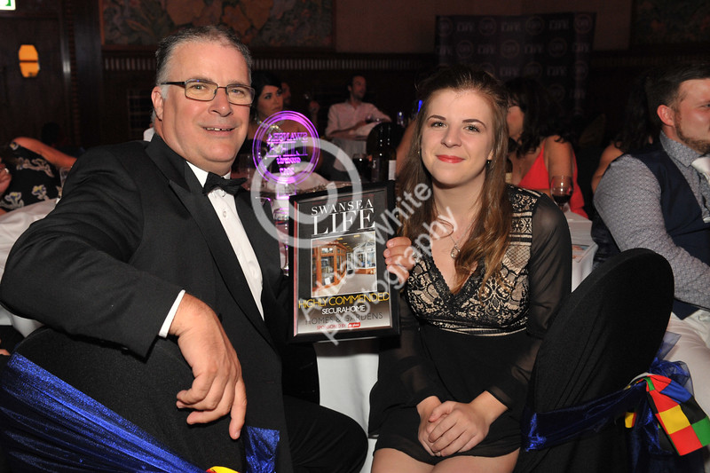 Swansea Life Awards 2017 Brangwyn Hall, Swansea Homes and Gardens Runners Up... Securehome