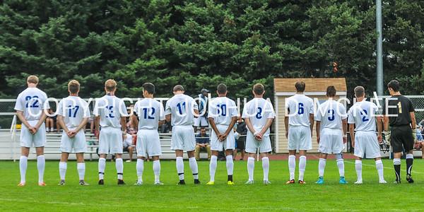 Hamilton Men's Soccer 9-12-15 v Bates