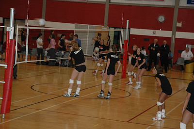 Girls Varsity Volleyball - 2006-2007 - 1/18/2007 TriCounty JG
