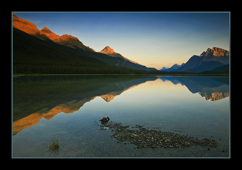 Upper Waterfowl Lake, Banff National Park, Alberta, Canada