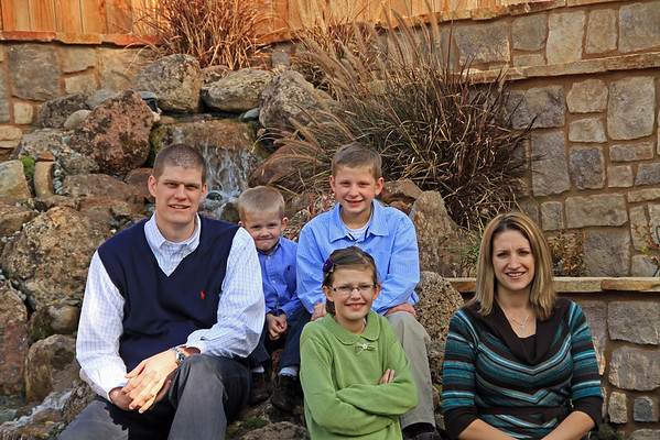 Bren Heaton Family 2011