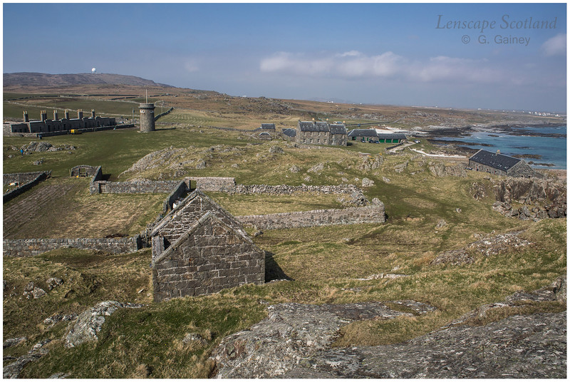 Hynish - shore base complex for Skerryvore lighthouse 3