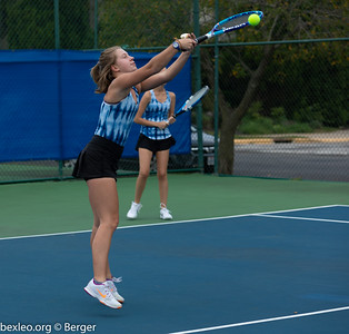 JV Tennis Girls Warmup