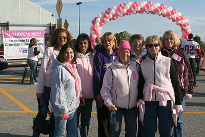 2009 Making Strides Against Breast Cancer:  Group Shots