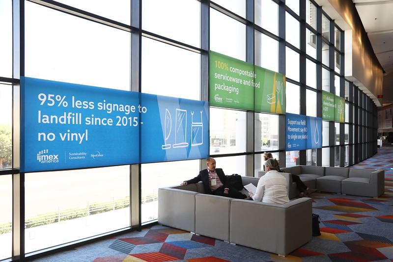 Sustainability at IMEX America 2018