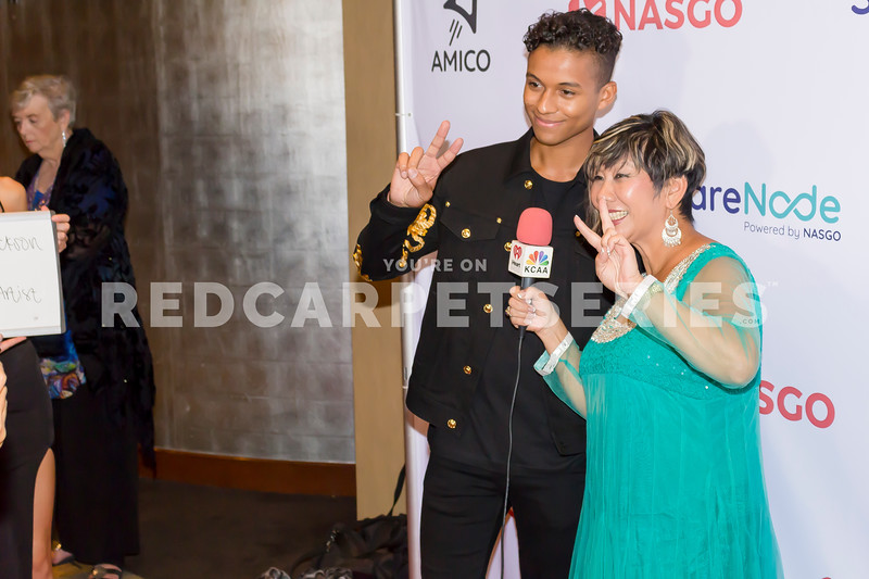 Jaafar Jackson at Nasgo's 'The Reveal' at Dolby Theatre