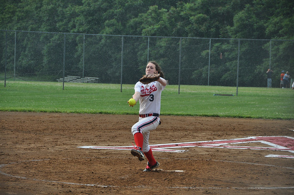 Albemarle softball rolls in region opener 2012