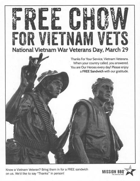 2019_0329 Mission BBQ 20707 - Vietnam Veterans Day