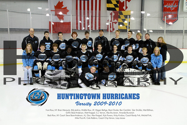 Huntingtown Varsity Team Photos 2009-2010